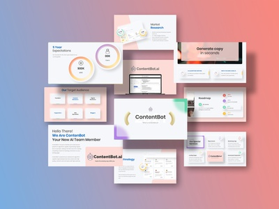 Investor Pitch Deck | Startup Pitch for ContentBot startup pitch deck investor pitch deck pitch deck