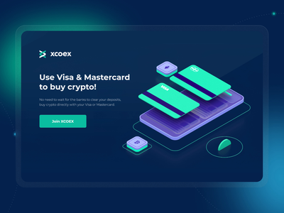 XCOEX — Crypto Trading Platform ux illustration design 3d ui design site design uxui ui landing page design 3d animation