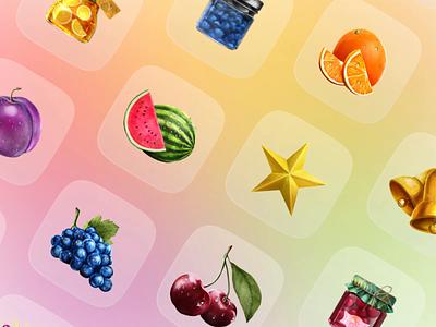 Fruits — Icon Illustrations design icons illustration