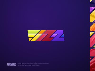 FIZZ — Puzzle Game Logo design logo