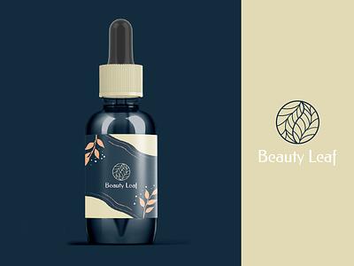 Beauty Leaf cream packaging beauty logo cream logodesign logo package packaging leaf beauty leaf beauty