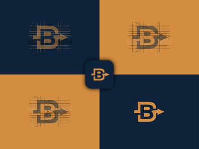 Logo Design for Boosting Profiles Tips boost boosting boost profile b letter arrow b arrow logo identity design logodesign branding identity brand identity illustration design logo logoroom logoideas improve simple logosai logo boost