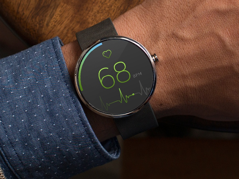 Heart Rate watch app app watch bpm hear green pulse android smart fitness hear rate google wear google watch