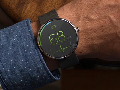 Heart Rate watch app