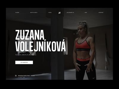 Zuzana Volejnikova personal webpage