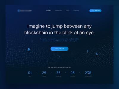 Bitcoin webdesign
