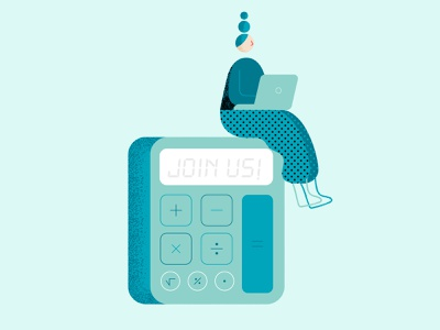 Data - Spot illustrations lab ui illustration code database charts character calculator uiux number math science vector data