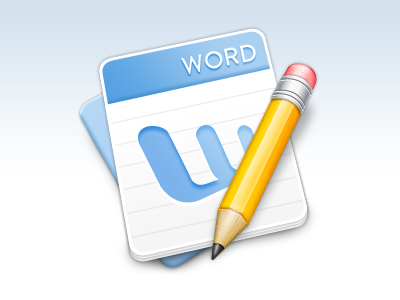 Word icon dribbble