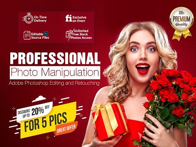 Professional Photo manipulation and Adobe Photoshop Editing