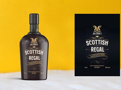 Beautiful Whisky Bottle Mockup psd premium new latest mockup bottle whisky beautiful