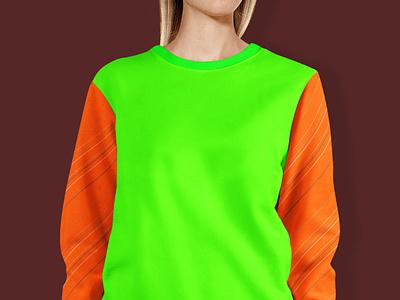 Women Sweat shirt Mockup 2020 illustration design premium new latest mockup shirt sweat women