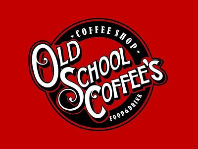 Old School Coffee's logo graphicdesign design
