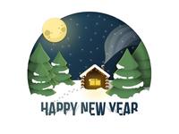 Happy new year, Dribbble!