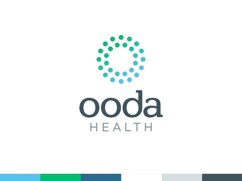 OODA rebrand logotype logos logo design brand design brand identity brand tee design business card design business card tee shirt branding healthcare logo