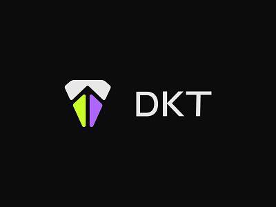 DKT — Branding. billboard bit nozzle symbol minimalism identity brand logo branding