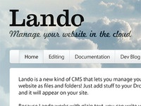 New Lando Promo Site