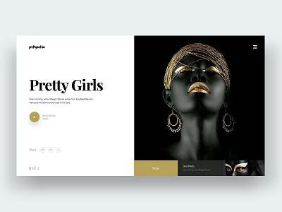 Nagin - 1 slider heroimage black web design apps webui girst.transiction