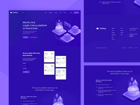 Crypto Coincy Landing Page