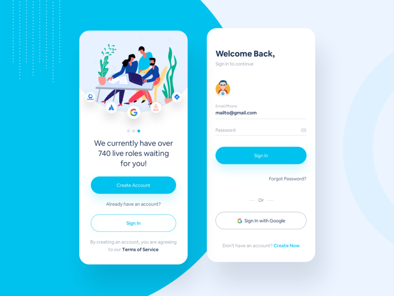 Find Your Job by Mahin Muslim for Prelook Studio on Dribbble