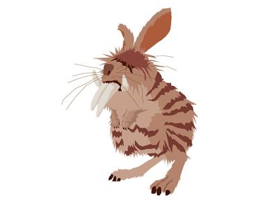 Croods Illustration—Bunnybeast