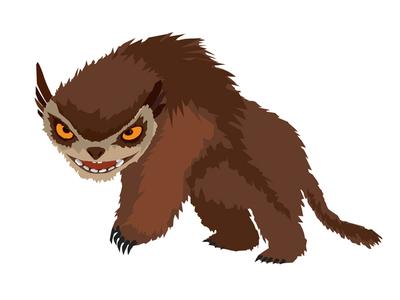 Croods illustration—Bear Owl