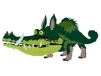 Croods illustration—Croco