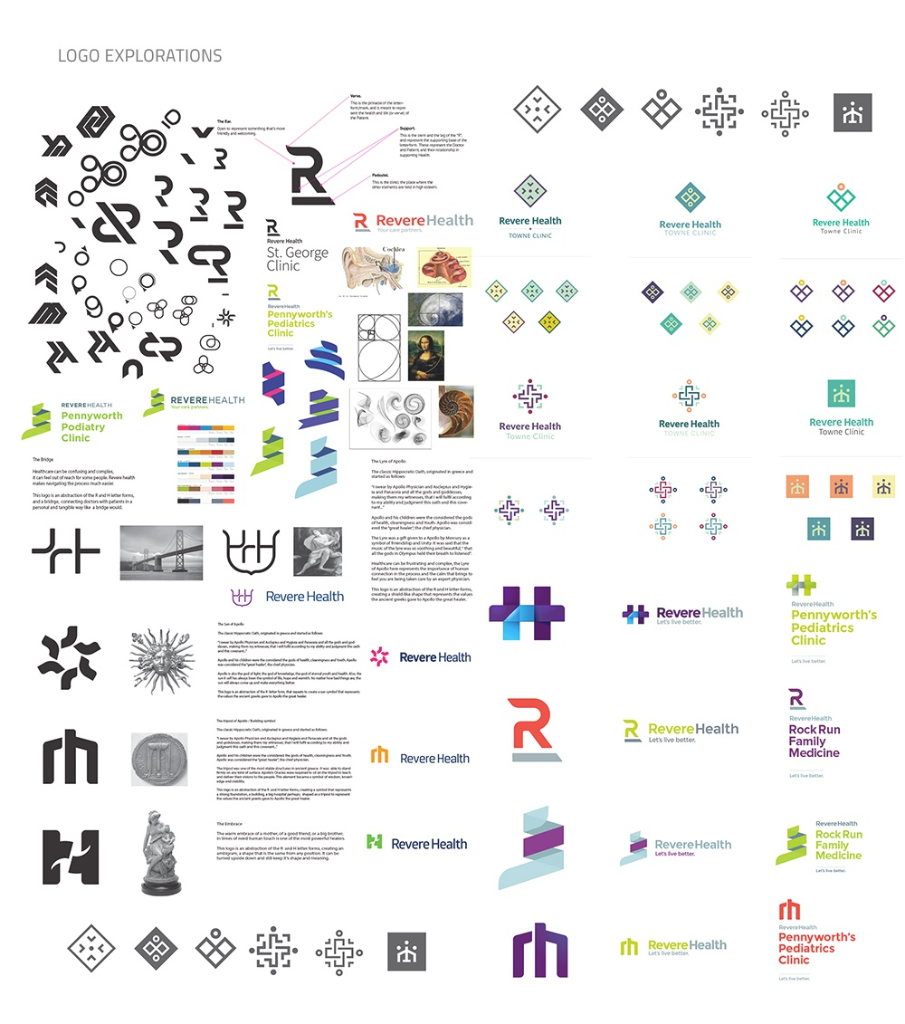 Revere logo explorations