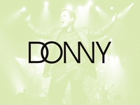 Donny Osmond Logo
