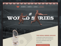 Landing Page - World Series