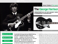 Product Page - The George Harrison Gretsch