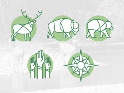 Alberta Wilderness Association - Icons