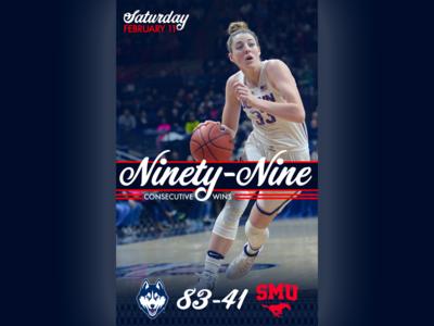 February 11 - UConn vs SMU sports design graphic design smu uconn college basketball basketball