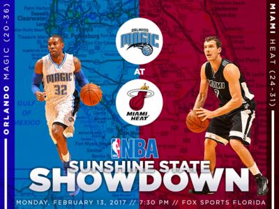 February 13 - Magic vs Heat