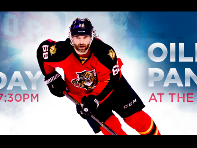 February 22 - Oilers vs Panthers