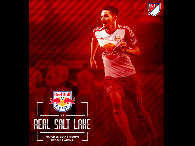 online retailer 73871 4d5b0 March 25 - New York Red Bulls vs Real Salt Lake by Tim ...