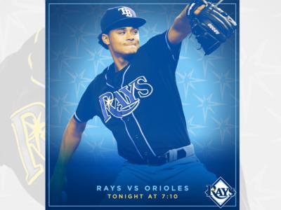 June 23 - Rays vs Orioles