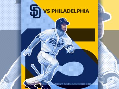 August 15 - Padres vs Phillies
