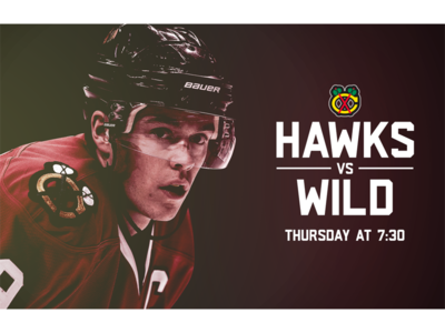 October 12 - Blackhawks vs Wild