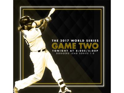 October 25 - World Series