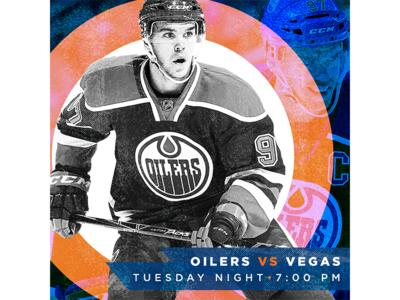 November 14 - Oilers vs Vegas