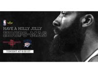 December 25 - Rockets vs Thunder