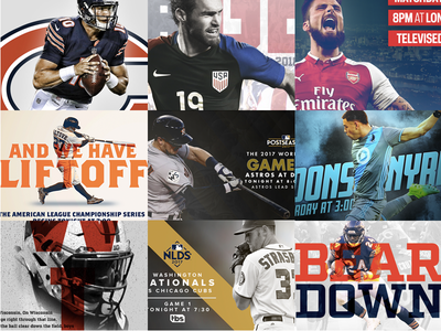 Gameday 365 - My Top 9 graphic design gameday sports design