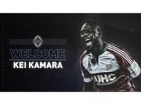 Vancouver Whitecaps - Welcome Kei Kamara