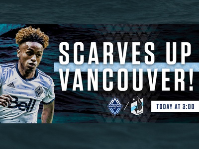 Vancouver Whitecaps Campaign Pitch football soccer graphic design sports design gameday
