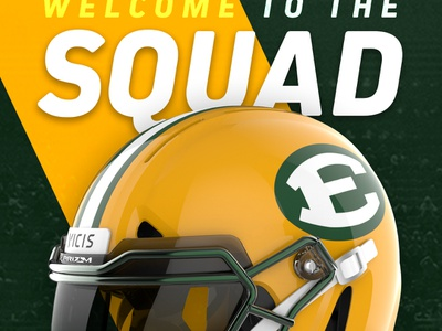 Welcome to the SQUAD keyshot graphic design football sports design