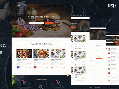 Food Online - ordering from local restaurants