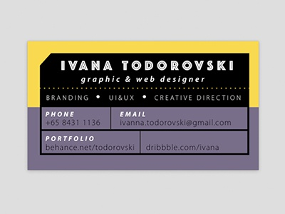 Business Card business card stationery personal branding business stationery