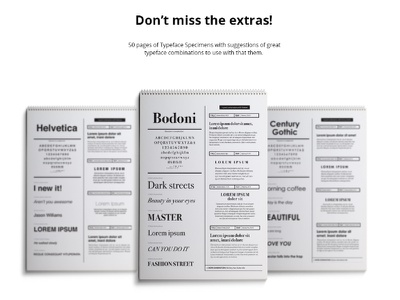 Typography Guide Content layout bodoni fonts font typography typo typography glossary