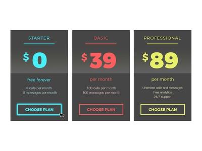 Pricing Table design interface user model ui pricing table price pricing ux ui design web ux design