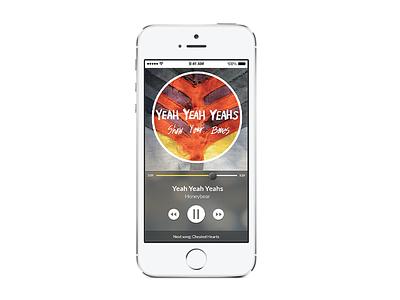Music Mobile App userinterface dailyui listeningmusic sound application ux mobileui ui mobile app music app mobile